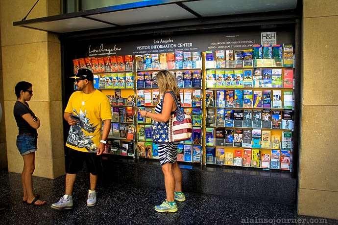 Tourist Info Center Hollywood Boulevard Los Angeles