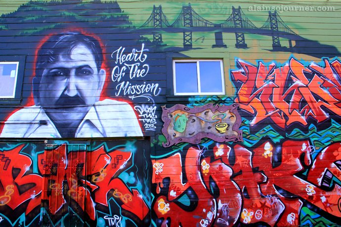 The Murals in Mission, San Francisco