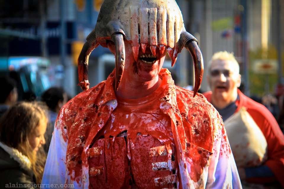 Zombie Walk Toronto 2014 Photos