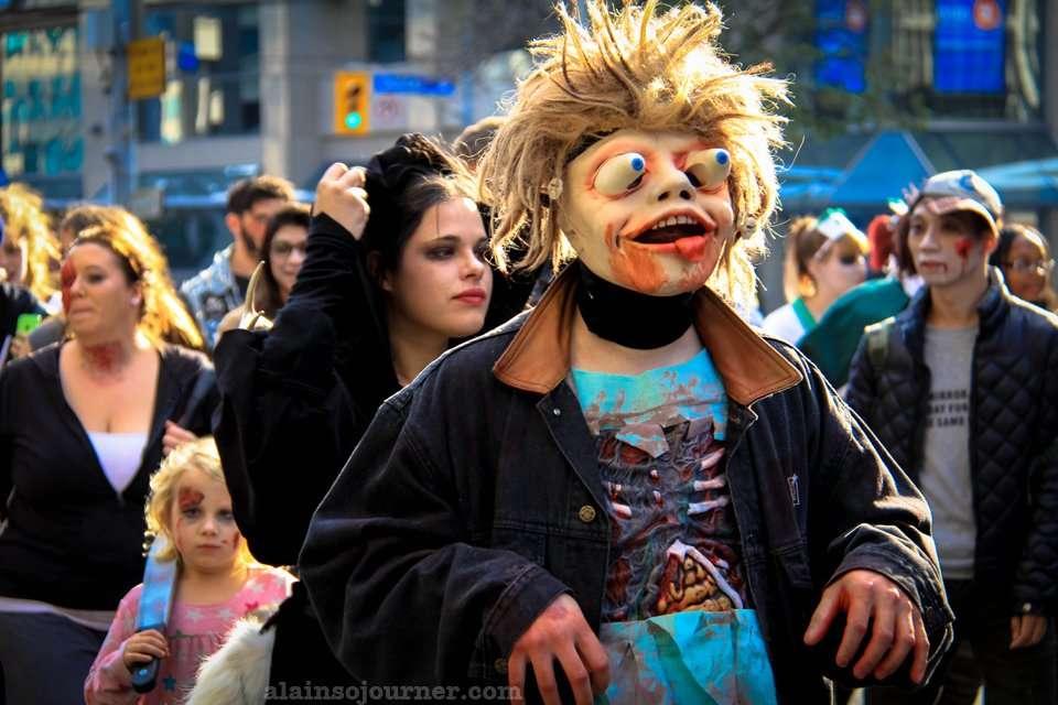 2014 Toronto Zombie Walk Parade