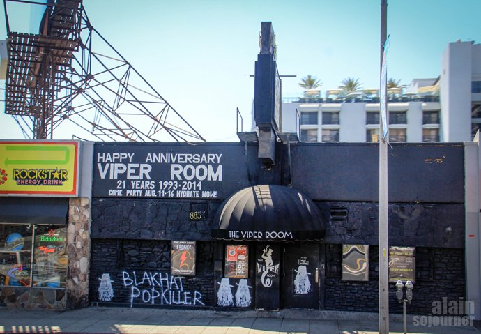Hollywood Bus Tour Viper Room Los Angeles