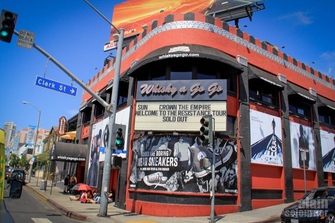 Whisky A Go Go Sunset Boulevard