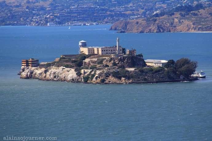 island Alcatraz San Francisco California