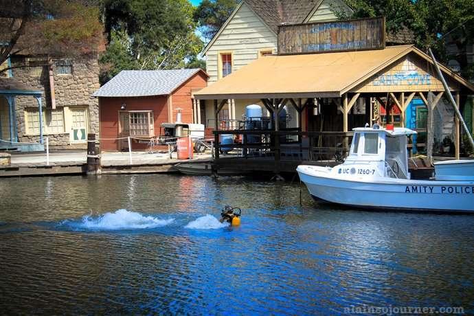 Jaws Amity Island Tour at Universal Studios