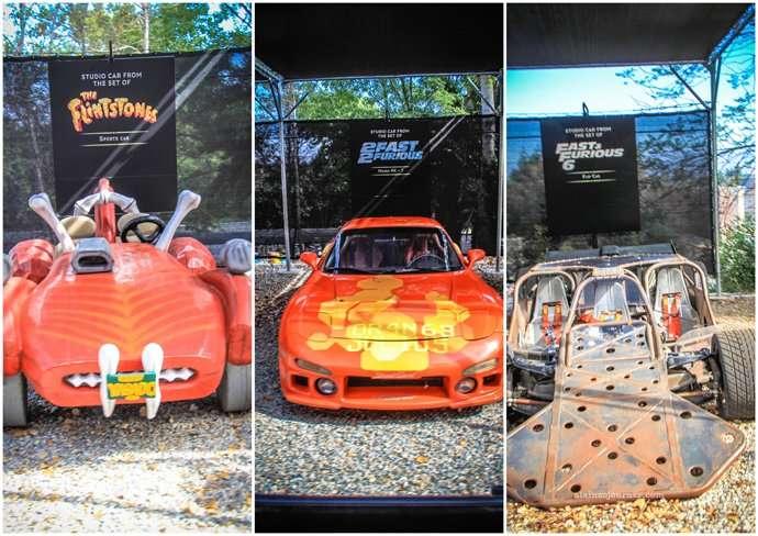 Universal Studio Tour Cars