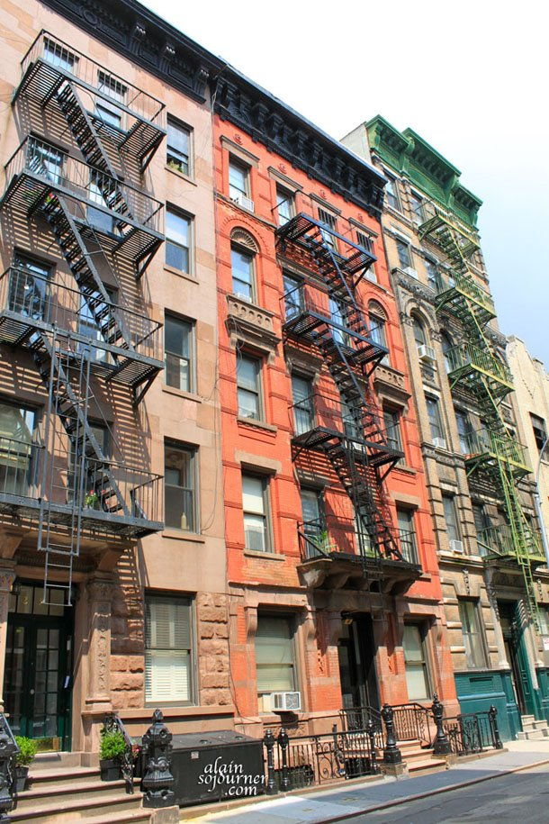 New York Apartments in Greenwich Village.