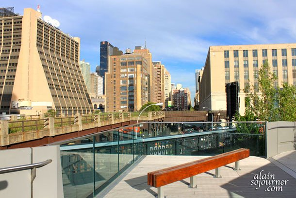 The High Line Park in New York City.