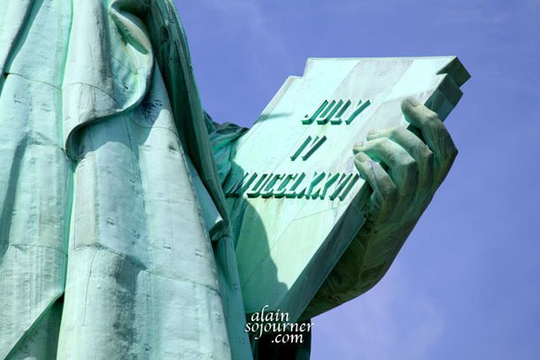 Statue of Liberty Book.