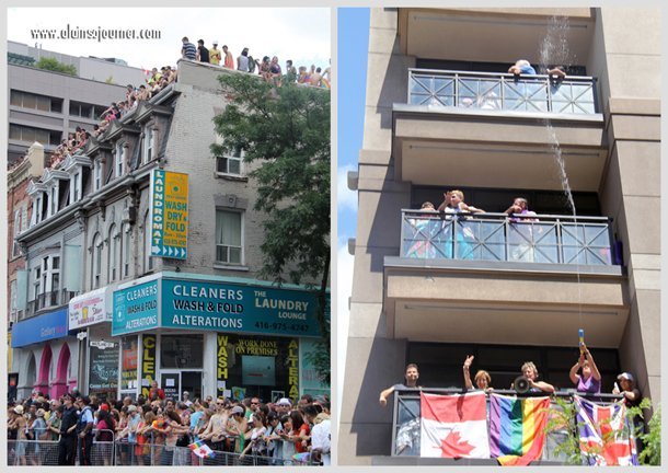2012 Crowd at Toronto Pride Parade.