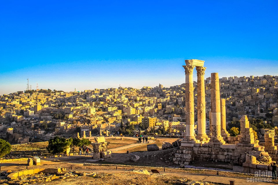 Things to do and see in Jordan: Climb the Citadel Hill in Amman.