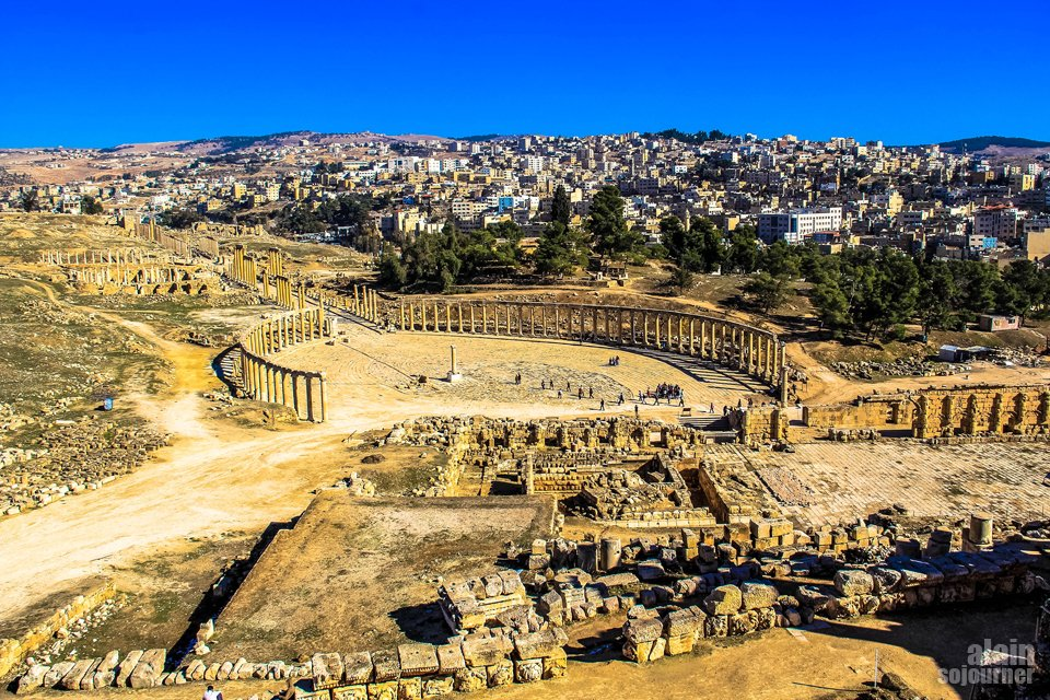 Things to do and see in Jordan: Never skip the ancient city of Jerash.
