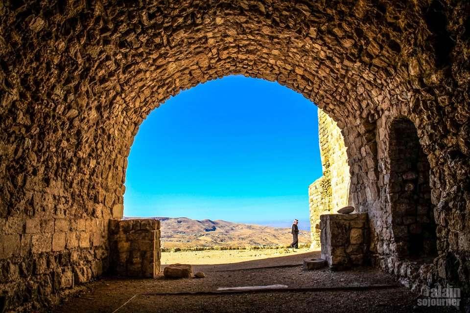 Things to do and see in Jordan: Visit Kerak Castle.