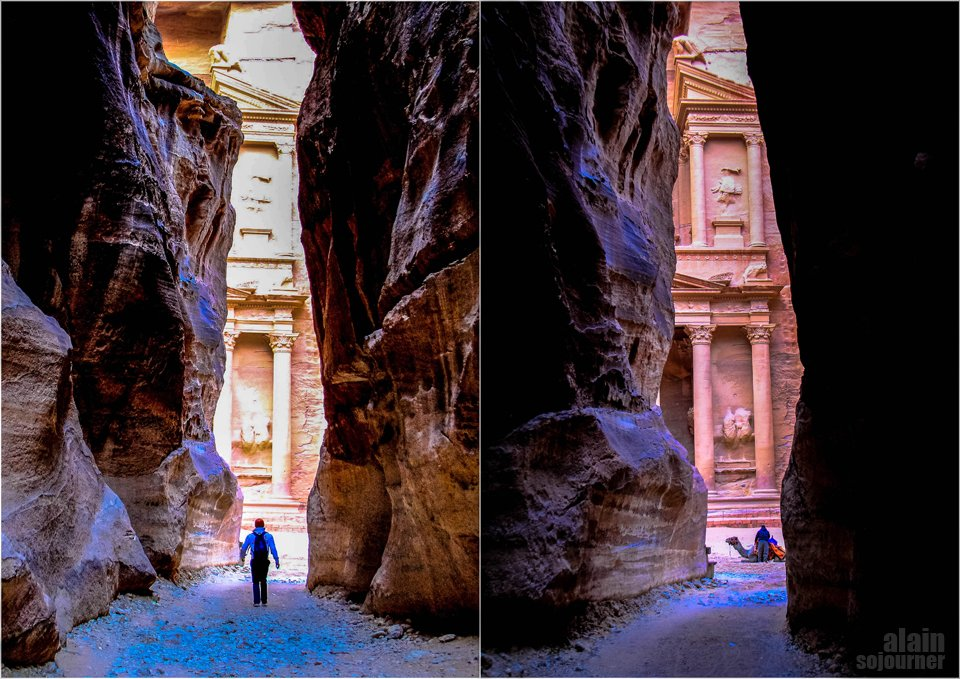 Things to do and see in Jordan: Walk the Siq.