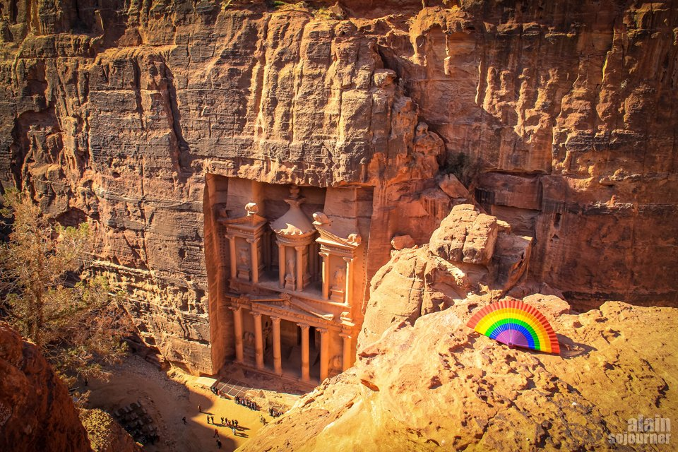 Things to do and see in Jordan: Walk around Petra.