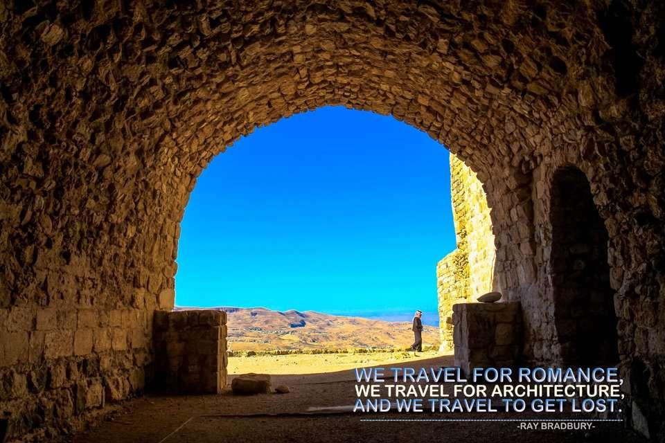 Ray Bradbury Travel Quote