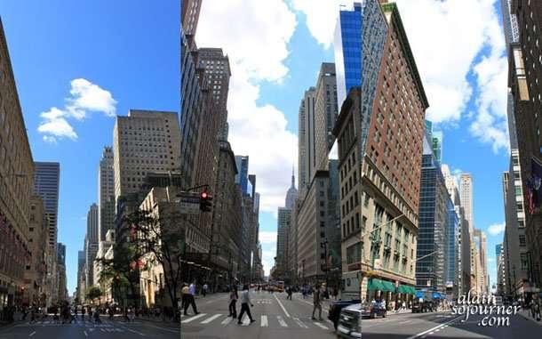 New York City's 5th Avenue.