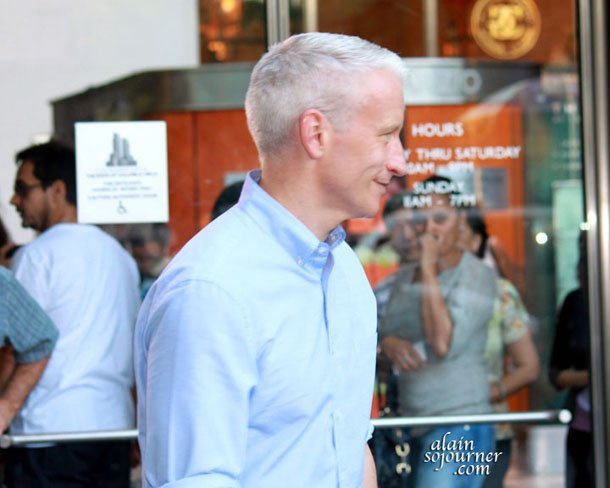 Anderson Cooper in New York City.