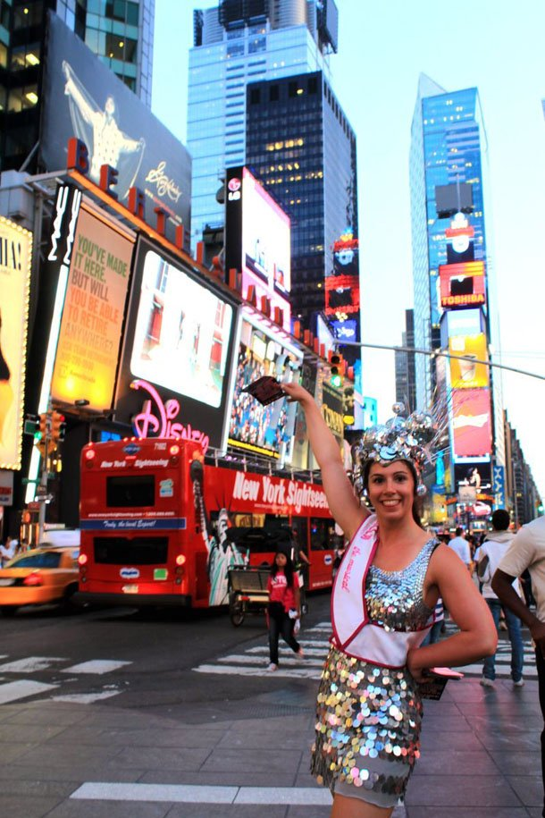 Broadway Girls in New York