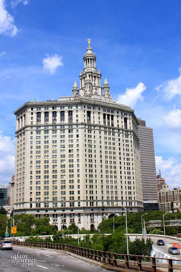 Manhattan's City Hall Building