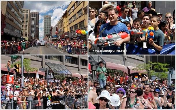 The Crowd at Toronto Pride Parade 2012