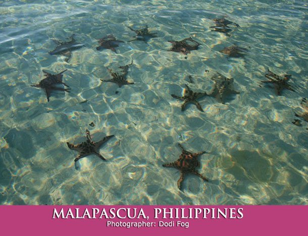 Malapascua Island in the Philippines.