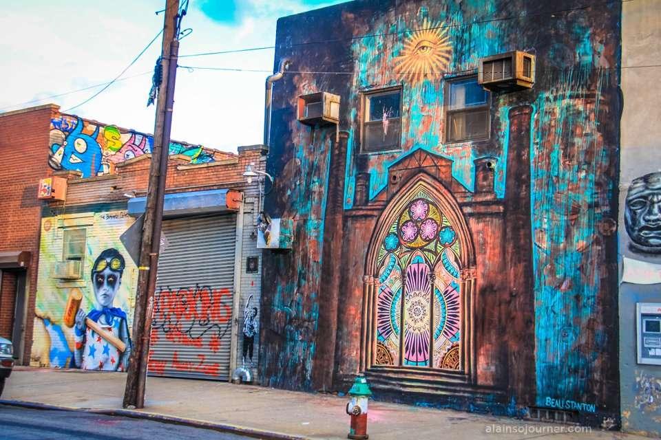 Bushwick Collective Murals / Street Art.