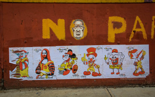 Bushwick Collective Murals in Brooklyn, New York.