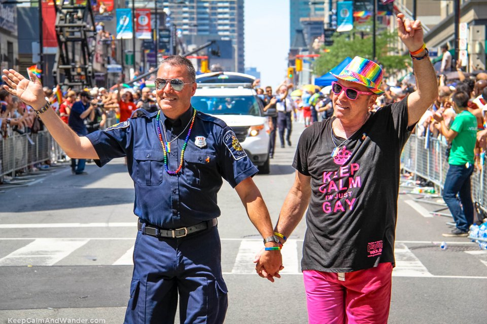 Gay Love World Pride Parade Toronto