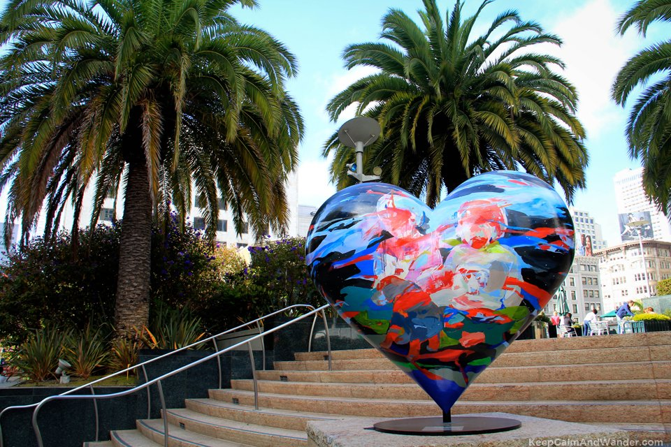 I found love in many places -- San Francisco, California.