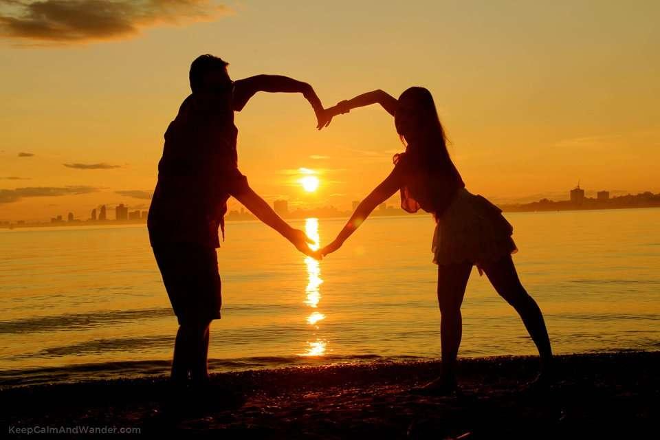 I found love in sunset.