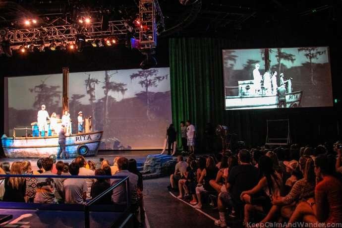 Movie Magic at Universal Studios in Los Angeles.