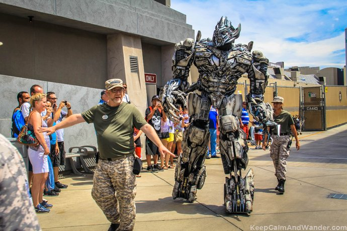 Transformers What to do and see at Universal Studios in Los Angeles.