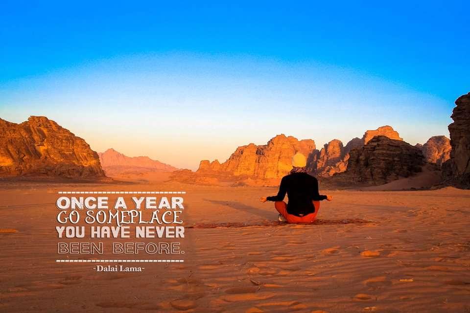 Travel quote by Dalai Lama