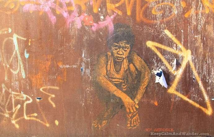 Grafitti in New York (brooklyn).