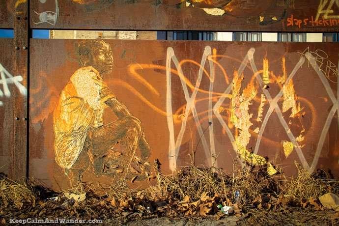 Grafitti in New York (Brooklyn)