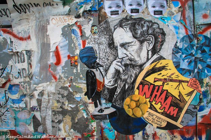 Grafitti Tour in Brooklyn, New York City.