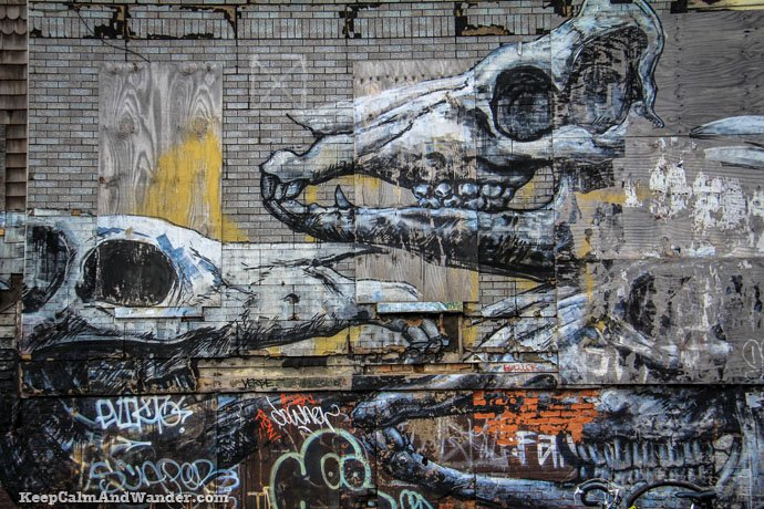 Brooklyn Grafitti and Bushwick Collective in New York.