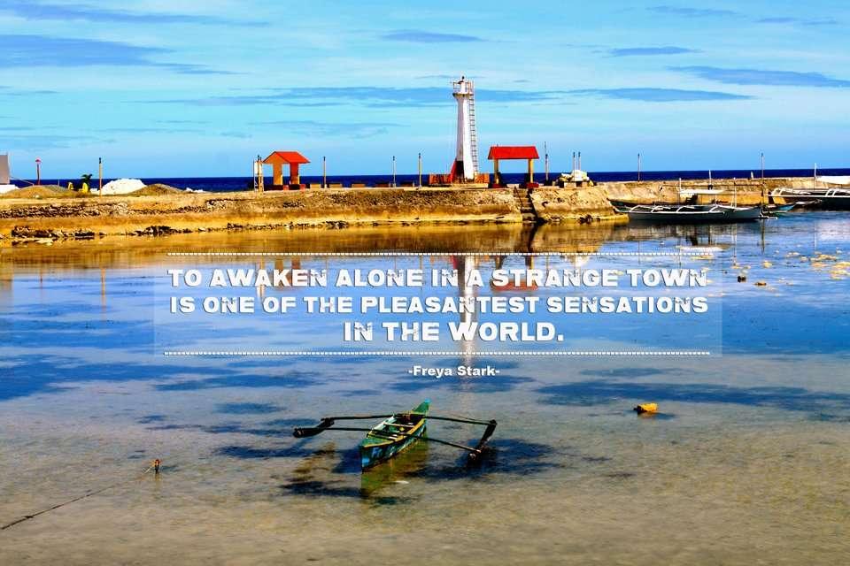 Freya Stark Inspiring Travel Quote