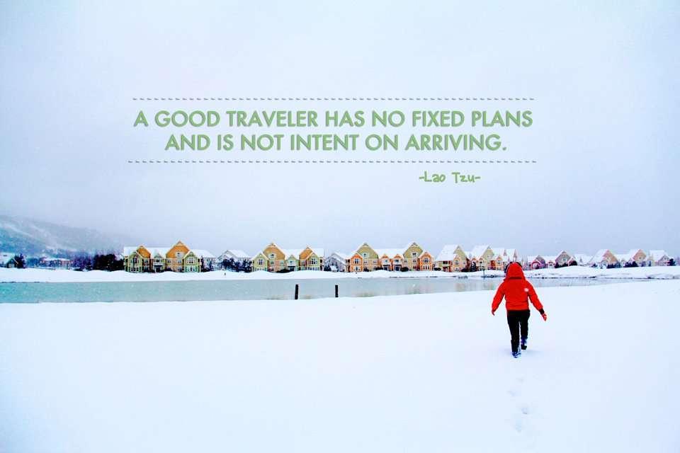 Inspiring Travel Quote from Lao Tzu-
