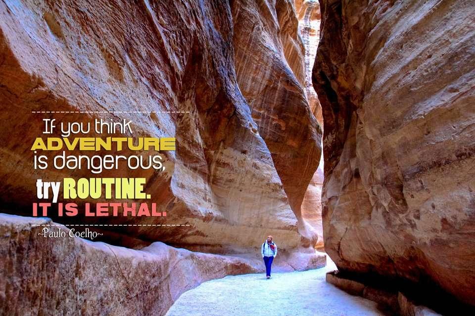 Paulo Coelho  Travel Quote
