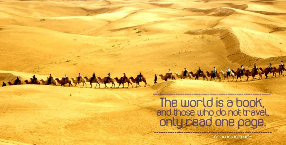 Inspiring Travel Quote St Augustine