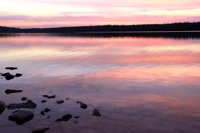 Sunset at Cyprus Lake Bruce Peninsula 16