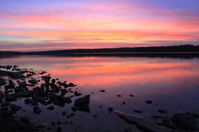sunset bruce peninsula