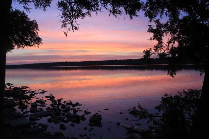 tobermory sunset