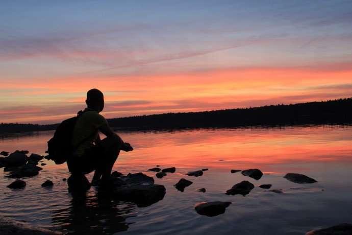 Tobermory sunset bruce peninsula