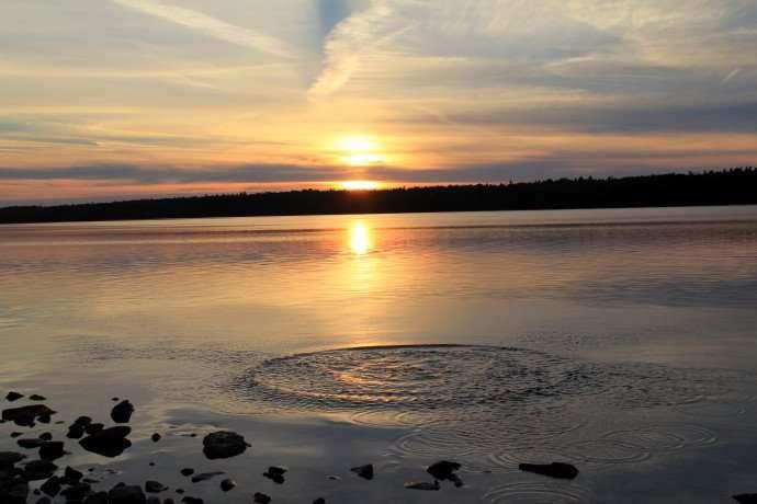sunset tobermory bruce peninsula