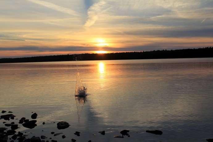 sunset tobemory bruce peninsula