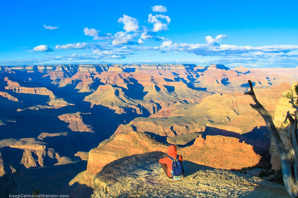 The Grand Canyon Sunset at Hopi Point.