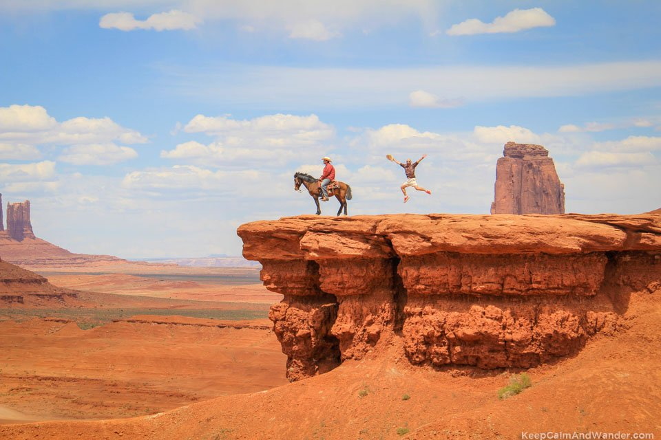 Time stands still at Monument Valley.