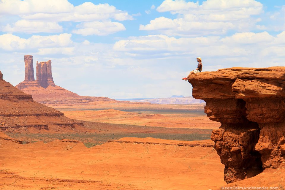 John Ford's Point at the Monument Valley Navajo Tribal Park in Arizona.